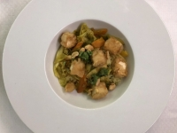 HS Asiatische Reisnudeln mit Gemüse und Tofu