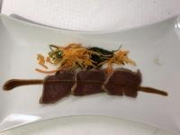 VS Thunfischtartaki mit japanischem Gemüsesalat