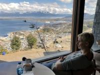 2019 03 03 Ushuaia Blick auf den Hafen vom Hotel Arakur