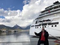 2019 03 03 Ushuaia Wasserentnahme vom Pazifischen Ozean