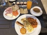 2019 03 05 Falklandinseln Erstes Frühstück im SB_Restaurant