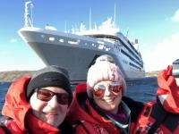 2019 03 05 New Island Coffins Harbour zurück mit Zodiac zum Schiff