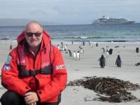 2019 03 06 Saunders Island Blick von unser Schiff