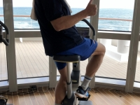 2019 03 09 Erster Fitnessstudiobesuch am Schiff
