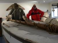 2019 03 10 Grytviken Museum Rettungsboot von Shackleton