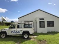 2019 03 16 Tristan da Cunha Polizeistation