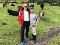 2019 03 16 Tristan da Cunha mit Kellner Miel
