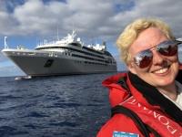 2019 03 16 Tristan da Cunha mit dem Zodiac zurück zum Schiff