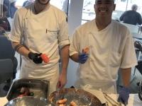 2019 03 18 Meeresfrüchtebuffet beim Mittagessen