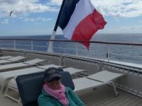 2019 03 18 Umrundung Tristan da Cunha am Sonnendeck