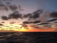 2019 03 19 Sonnenuntergang Farbe 3 um 19 46 Uhr