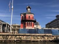 2019 03 23 Leuchtturm im Hafen Kapstadt