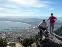 2019 03 23 Tafelberg Blick auf Kapstadt vom Felsen