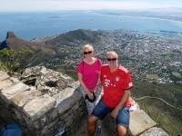 2019 03 23 Tafelberg Herrlicher Blick auf Kapstadt
