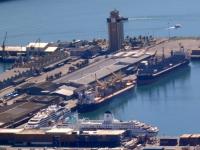 2019 03 23 Unser Schiff im Hafen von Kapstadt