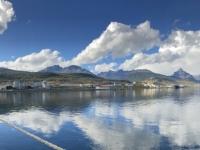 2019 03 03 Ushuaia Seabourn Quest liegt auch im Hafen