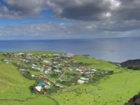 2019 03 16 Tristan da Cunha Blick vom Vulkan