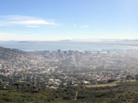 2019 03 23 Blick auf Kapstadt von Tafelberg Talstation