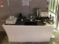 Kaffee und Teebar der Main Lounge auf Deck 3
