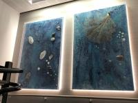 Kunst im Stiegenhaus