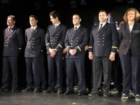 Offiziere 2 beim Abschiedscocktail