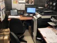 Büro von Küchenchef und Restaurantleiter
