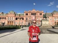 2019 03 02 Buenos Aires Präsidentenpalast Casa Rosada FC Bayern