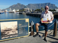 2019 03 23 Kapstadt Waterfront mit Tafelberg Reisewelt on Tour