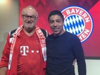 2019 04 03 Giovane Elber Markenbotschafter FC Bayern München in der Allianz Arena
