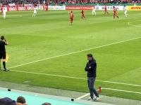 Trainer Niko Kovac bei der Arbeit