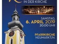 2019 04 06 Konzert Kirche Neumarkt Plakat