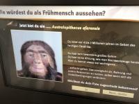 Gerald vor 3 Millionen Jahre als Australopithecus