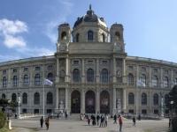 Panoramafoto des Kunsthistorischen Museums