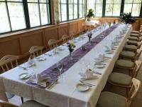 Mittagessen im Gasthof Seehaus direkt am Almsee