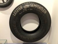 Der letzte Reifen von Semperit