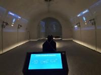 Futuristischer Raum