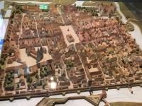 Modell der alten Stadt