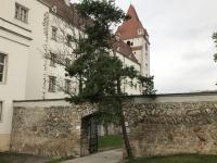 Alte Mauern mit schrägen Steinen gemauert_wie die alte Stadtmauer