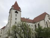 Theresianische Militärakademie in der alten Burg von Wr Neustadt