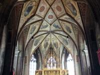 Gewölbe der Pfarr- und Wallfahrtskirche
