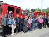 Gruppenfoto Schafbergbahn
