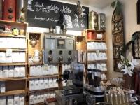 Kaffeemaschine in der Kaffeewerkstatt