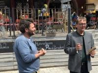 Kaffeewerkstatt erklärt durch Tourismusdirektor
