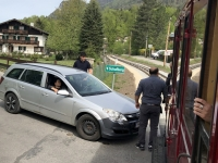 Nach 200 Meter Crash mit Auto