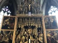 Pfarr- und Wallfahrtskirche mit Pacher Altar
