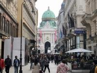 Blick zurück auf die Hofburg