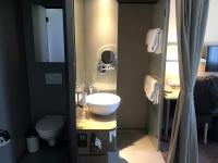 Boutiquehotel Stadthalle Bad und WC getrennt