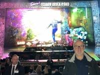 John Elton Konzert vor Beginn