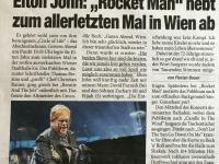 Zeitungsbericht nächsten Tag in Zeitung Heute