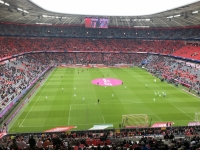 Das Stadion füllt sich